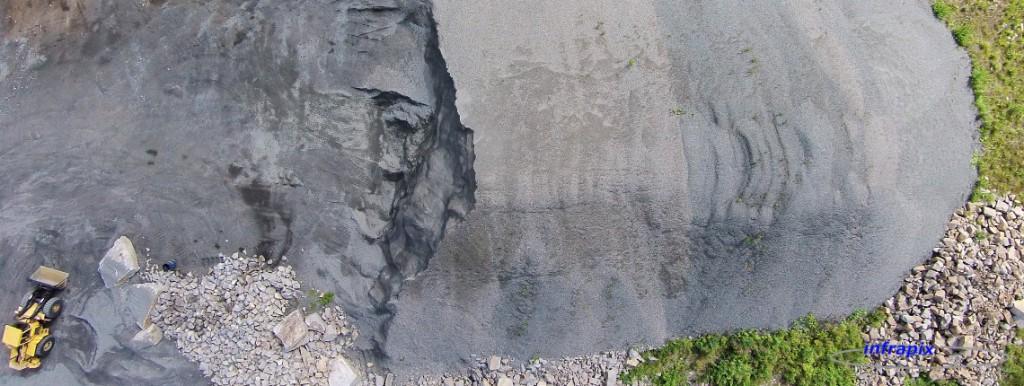Kiviaineksen volyymittaus ilmakuvauksella