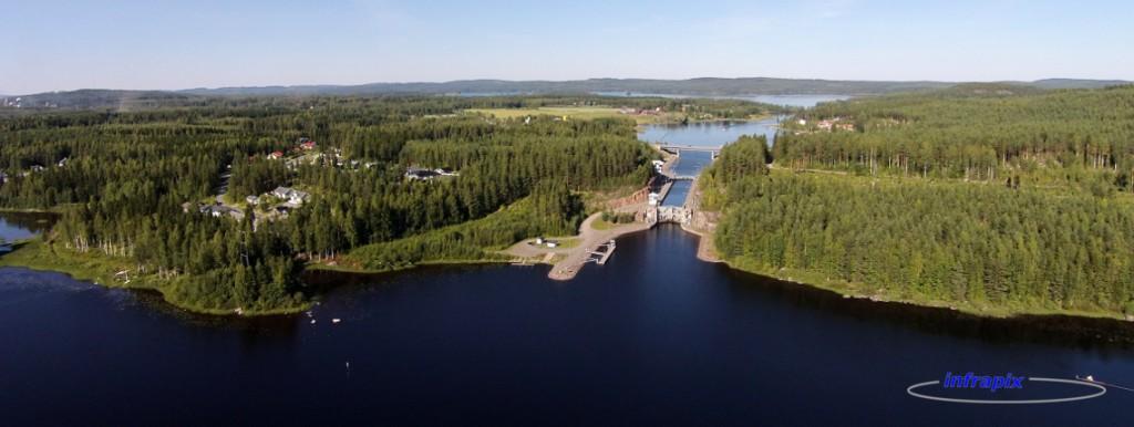 Paatelan kanava Äänekoskella Keiteleen ja Kuhnamon välissä.